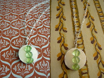 Peridot-Coin-Necklace