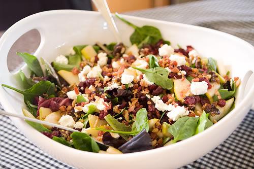 Pear and Pecan Salad Recipe