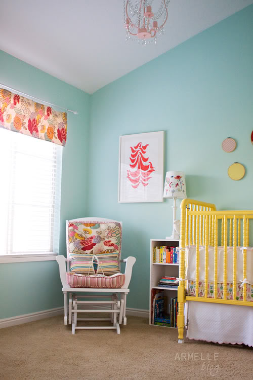 girl nursery tour
