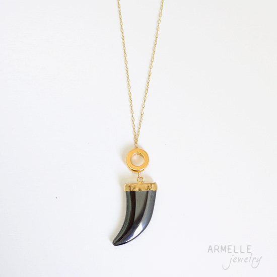 horn-necklace