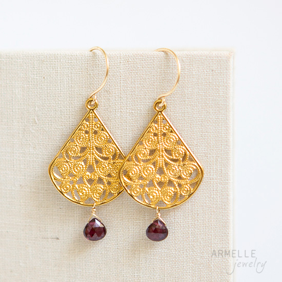 gold-filigree-earrings