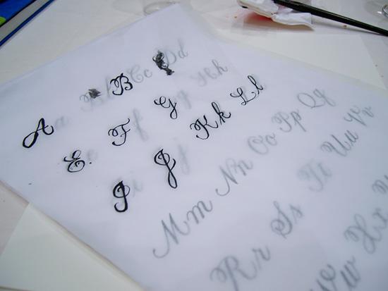 calligraphy-class