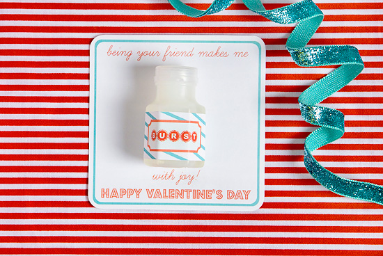 Non-Candy Valentine Free Printable
