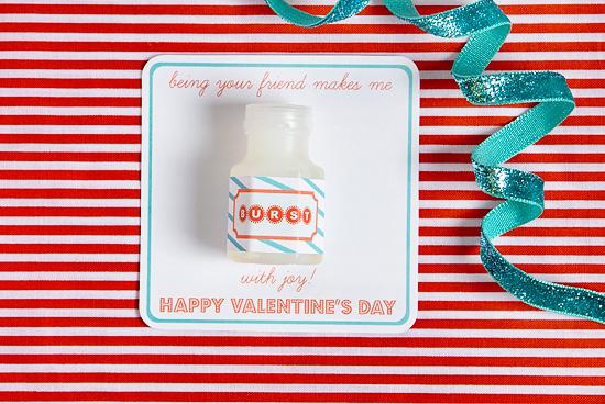 Non-Candy Valentine Free Printable