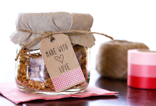 Made with Love Gift Tag Free Download