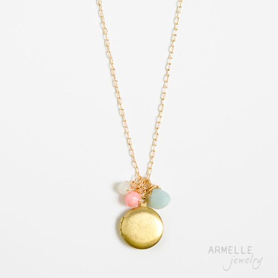 round-locket-necklace