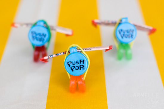 Airplane Birthday Party Favors