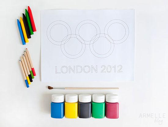 Team USA Olympic Art for Kids