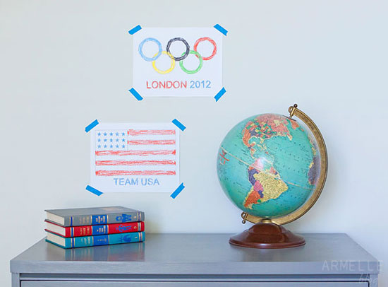 Team USA Free Printable Olympic Art for Kids