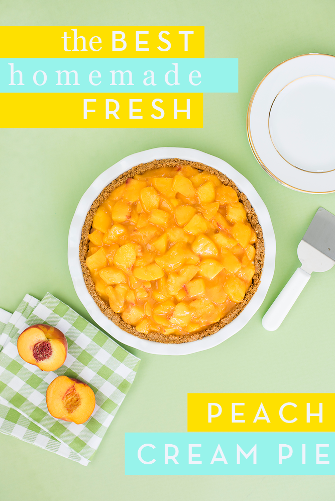 World Famous Fresh Peach Pie Recipe