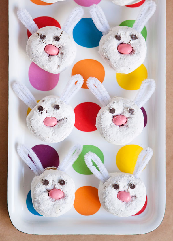 Easter Bunny Doughnut Treats