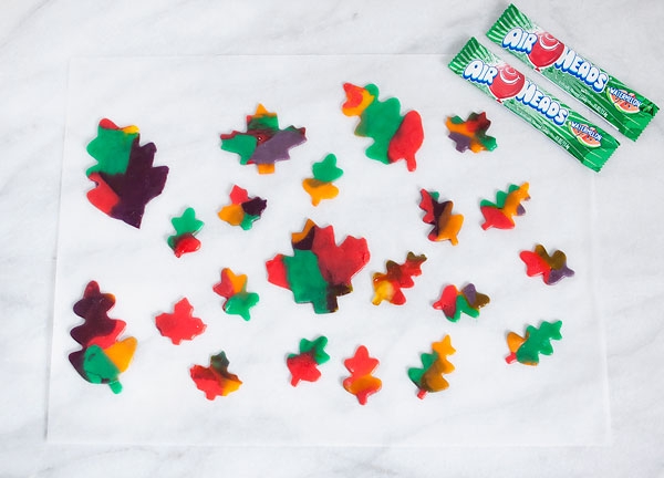 Airheads Candy Marbled Leaves