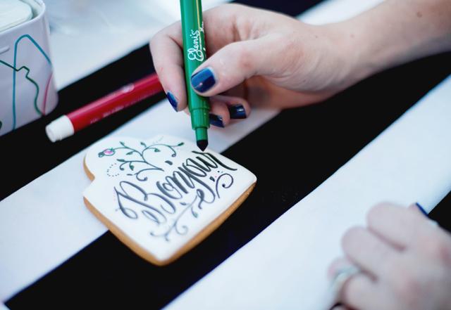 wayfair, party, black and white stripes, white exteriors, blogger party, elenis cookies, melissa esplin