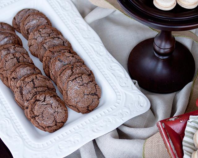 Christmas cookies macarons