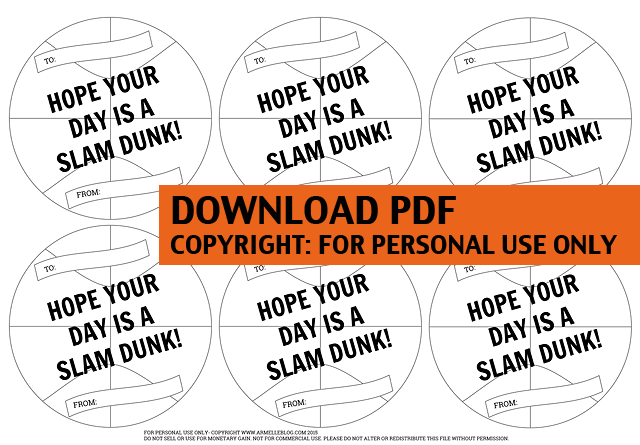 Basketball Valentine Download