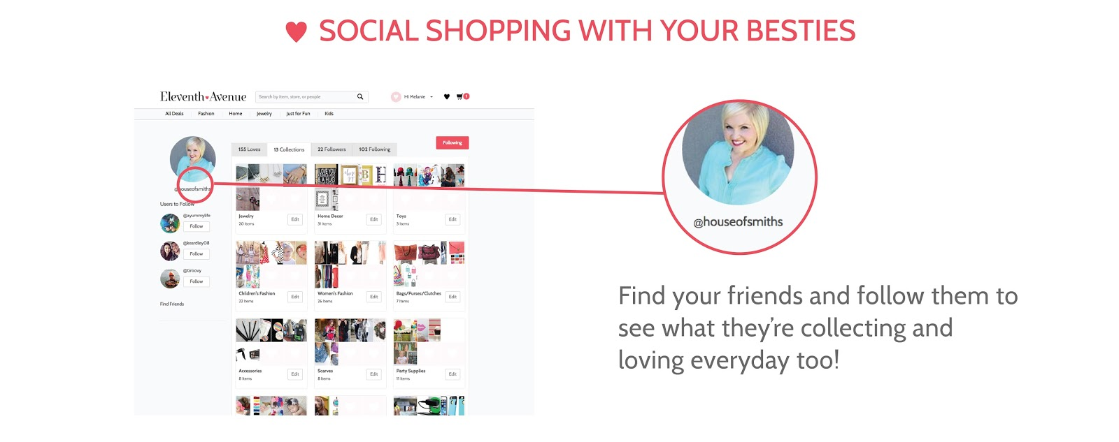 SocialShoppingwithyourBesties