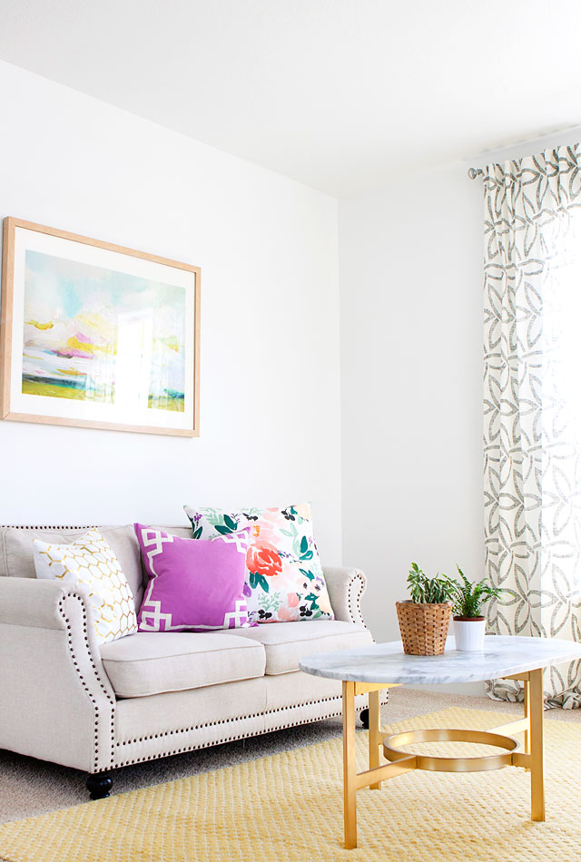 Minted Art Caitlin Wilson Textiles Pillow Lemmonlane Pillows West Elm Curtains West Elm Coffee Table