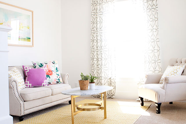 Minted Art Emily Jeffords Caitlin Wilson Textiles Pillow Lemmonlane Pillows West Elm Curtains West Elm Coffee Table