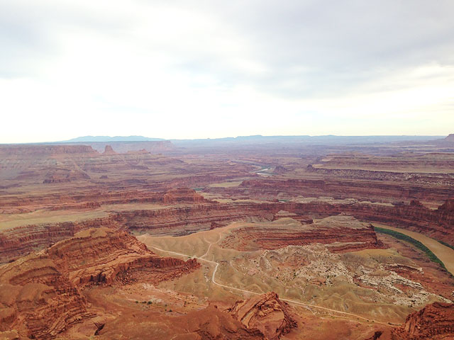 Dead Horse Point near Moab Utah