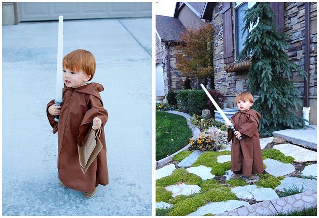 How to make a kids Jedi Costume
