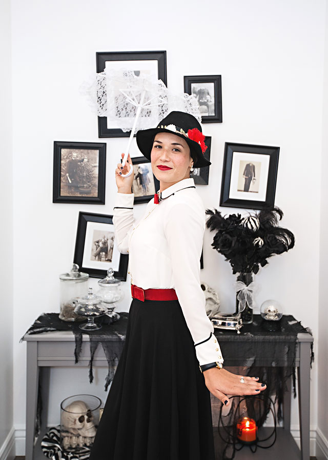 How to make a Mary Poppins costume from your Closet