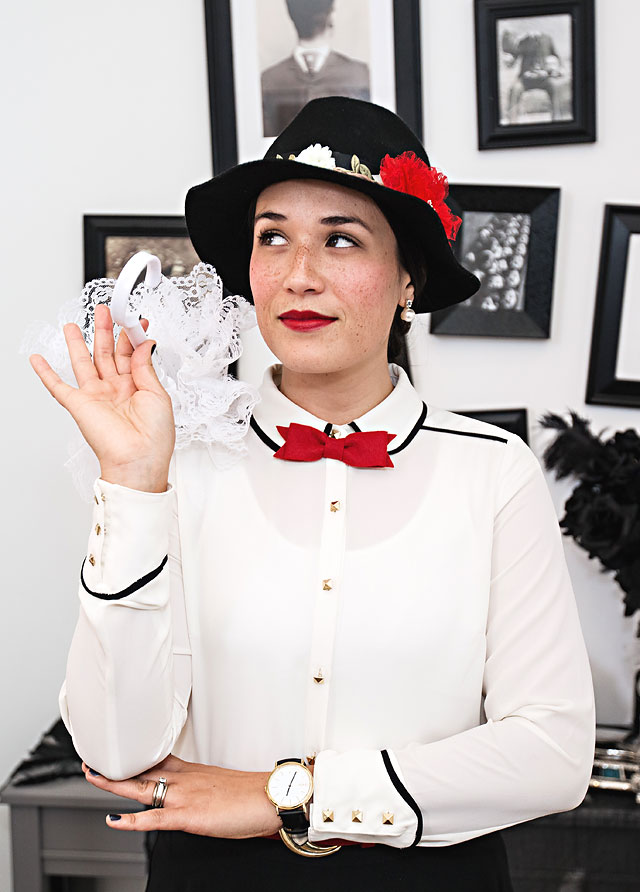 DIY Mary Poppins Halloween Costume