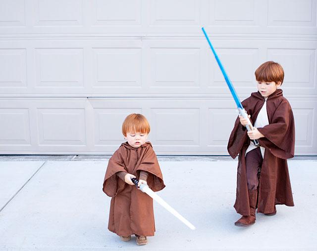 Diy Jedi Halloween Costume Tutorial Armelle Blog