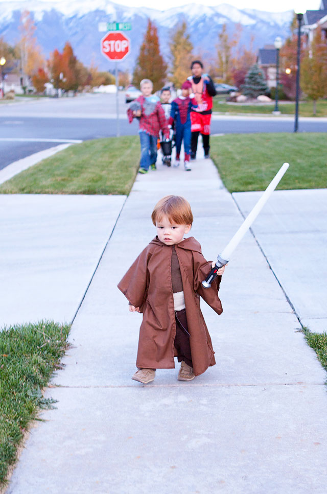 How to make a Jedi Costume