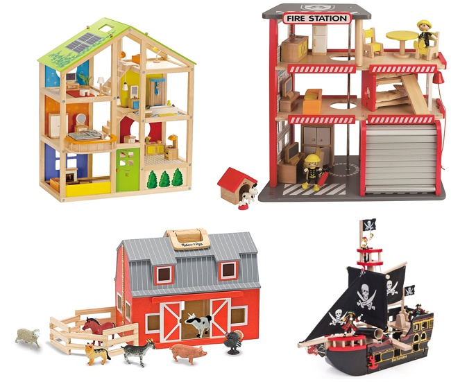 12 best wooden toys for children Hape Toys Melissa & Doug