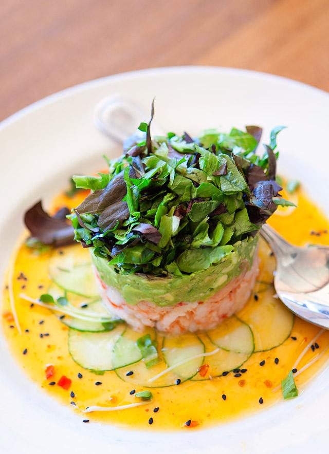 Sandy's Huntington Beach Layered Seafood Cocktail