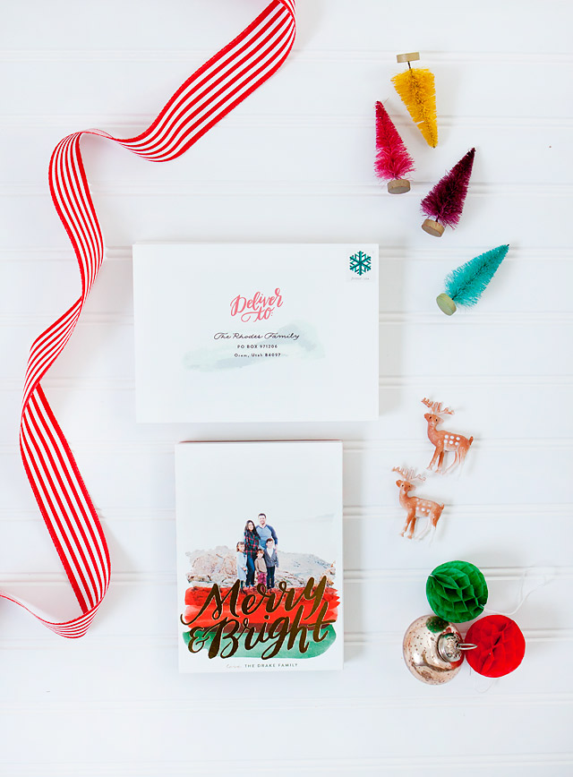 Minted Christmas Photo Cards