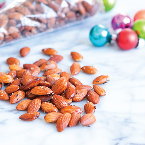 Recipe // Rosemary Fleur de Sel Almonds