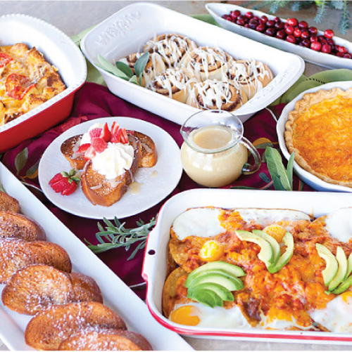 Recipe // Harmons Christmas Brunch