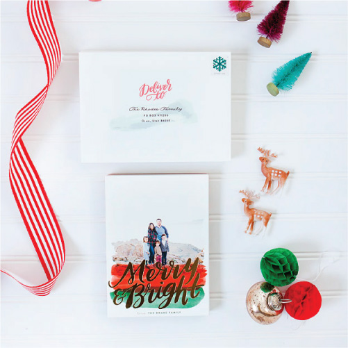 Christmas Cards 2015 // A Minted Giveaway …