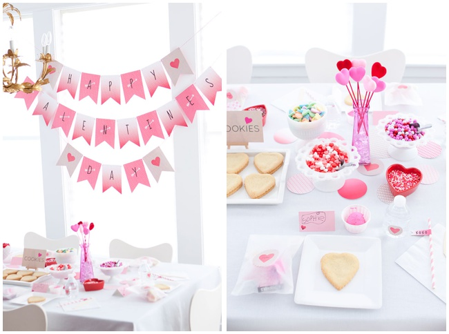 Valentine's Day Party Via Armelle Blog