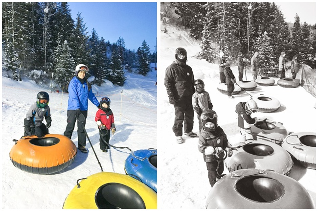 Steamboat Springs Winter Carnival Family Tubing at Howelsen Hill