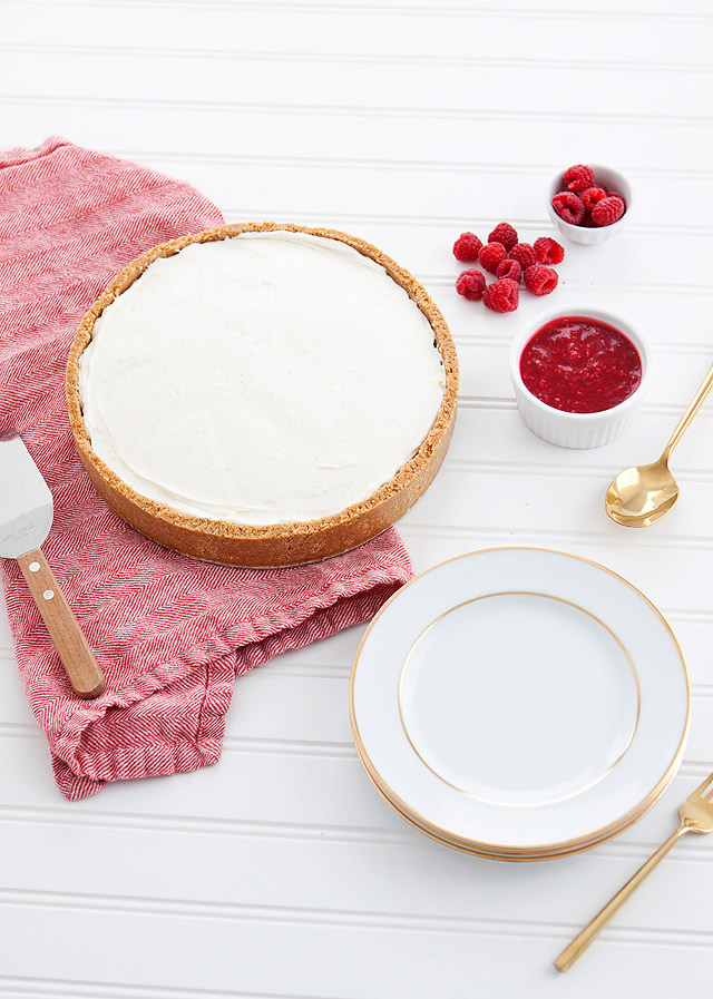 Valentine's Day Cheesecake Dessert Recipe