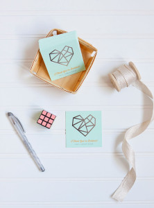 Rubik's Cube Classroom Valentine's Day Cards