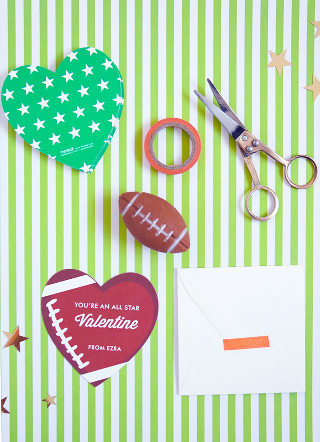 Non-Candy Minted Classroom Valentine's Day Cards