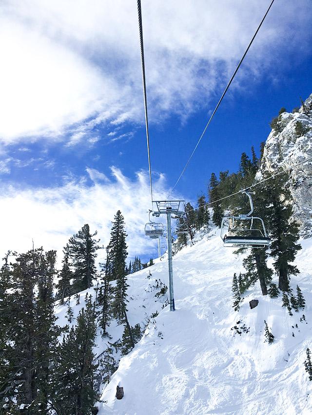 Ski Solitude Mountain Resort in Utah