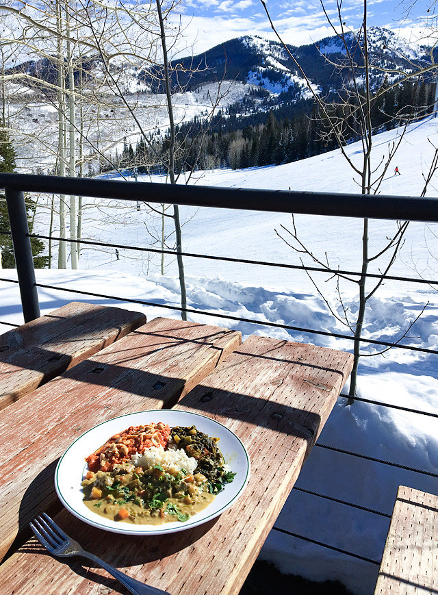 Curry Served at Solitude Mountain Resort
