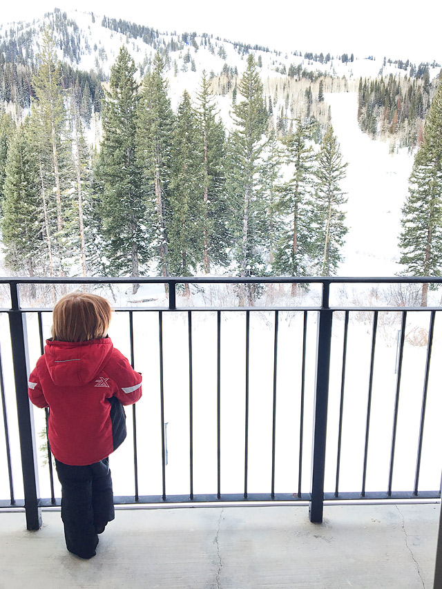 Family Ski Vacation Solitude Mountain Resort