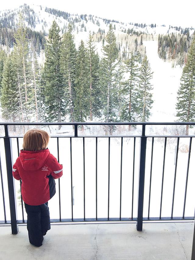 Family Ski Vacation Solitude Mountain Resort
