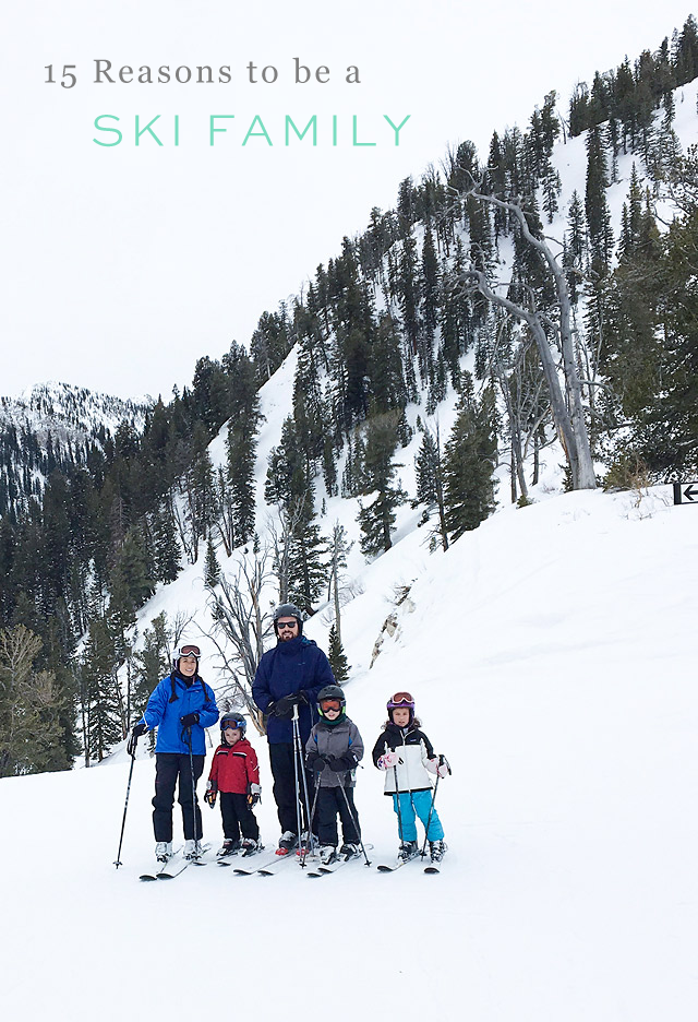 Family Ski Vacation at Solitude Mountain Resort via Armelle Blog