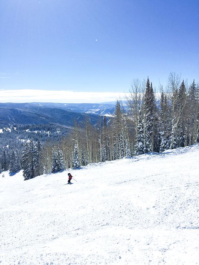 Winter Vacation Ski Resort Destination Steamboat Springs Family Travel via Armelle Blog