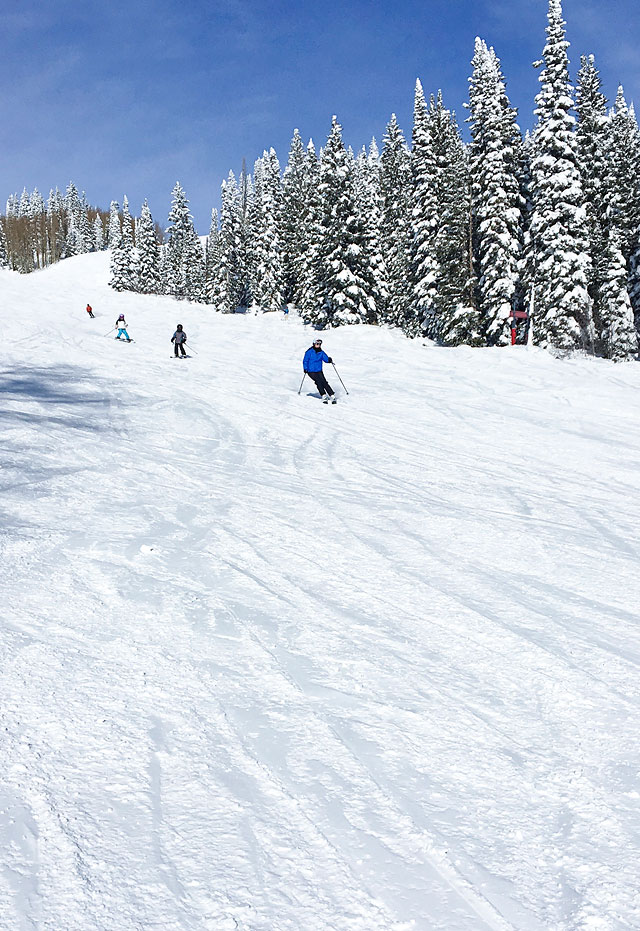 Winter Vacation Ski Resort Destination Steamboat Springs Family Travel via Armelle Blog