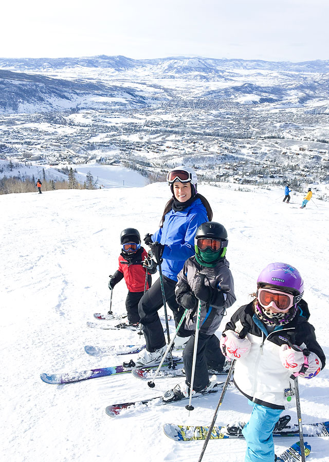Steamboat Springs Ski Resort Winter Vacation Destination