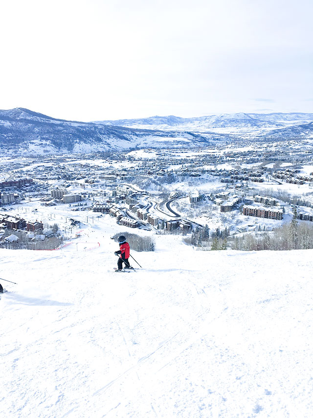 Steamboat Springs Ski Resort Winter Vacation Destination
