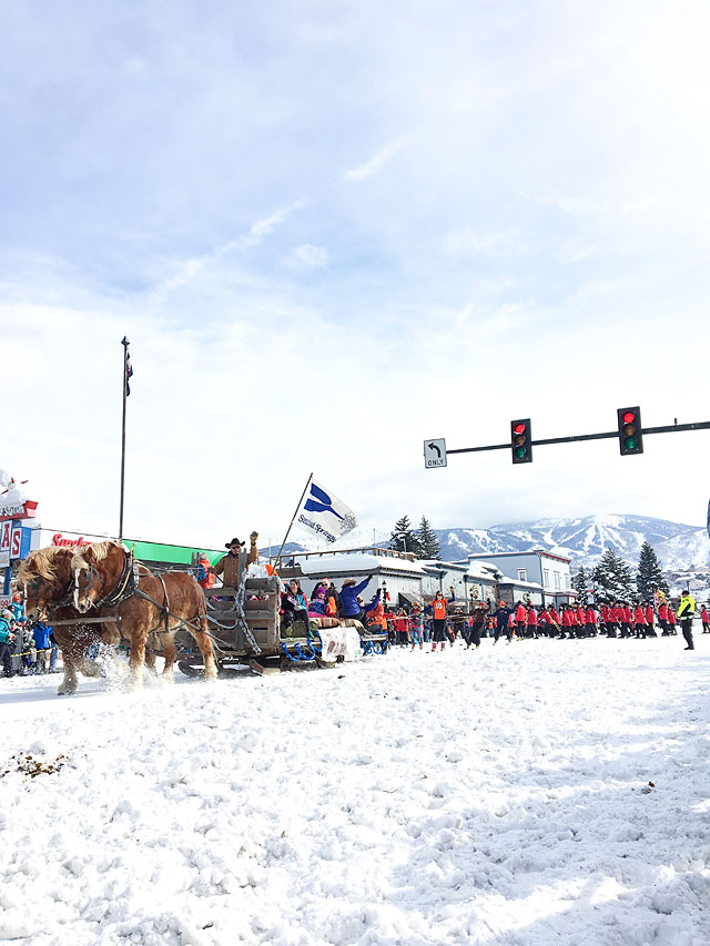 Steamboat Springs Winter Carnival Parade