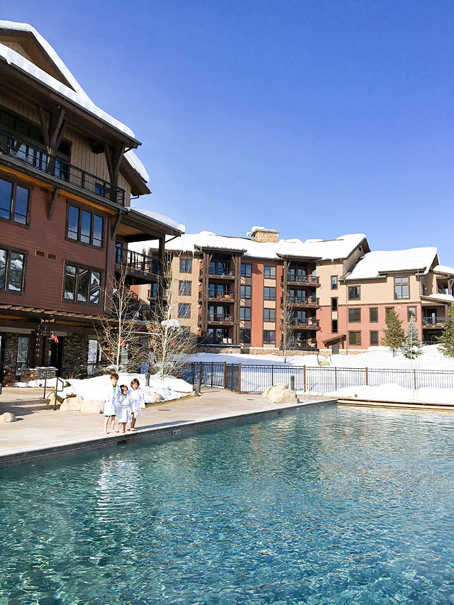 Wyndham Vacation Rental Trailhead Lodge Steamboat Springs Swimming Pool